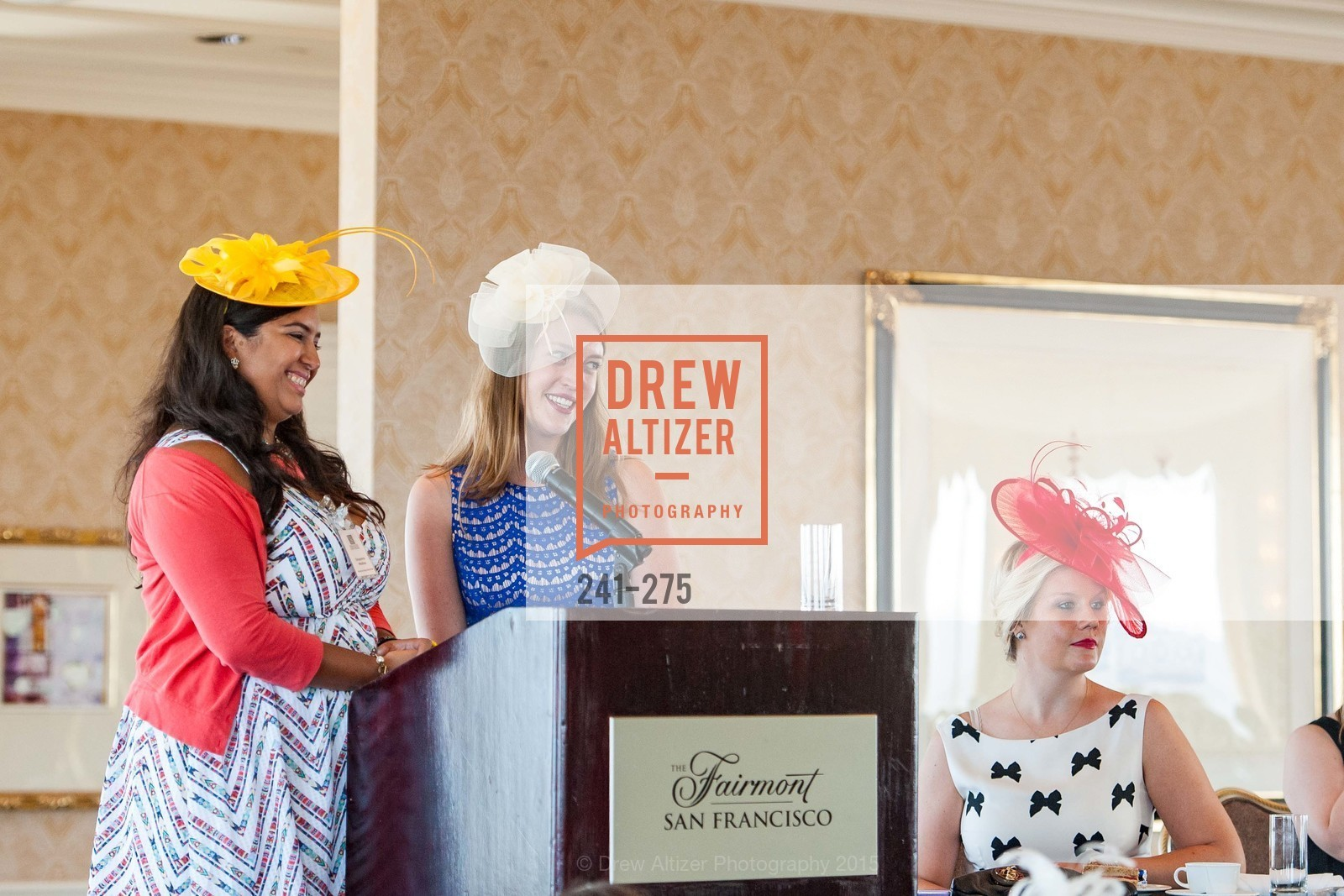 Deyanira Medina, Julia Allyn, Spinsters of San Francisco New Member Tea 2015, The Fairmont Hotel, Crown Room. 950 Mason Street, August 30th, 2015,Drew Altizer, Drew Altizer Photography, full-service agency, private events, San Francisco photographer, photographer california