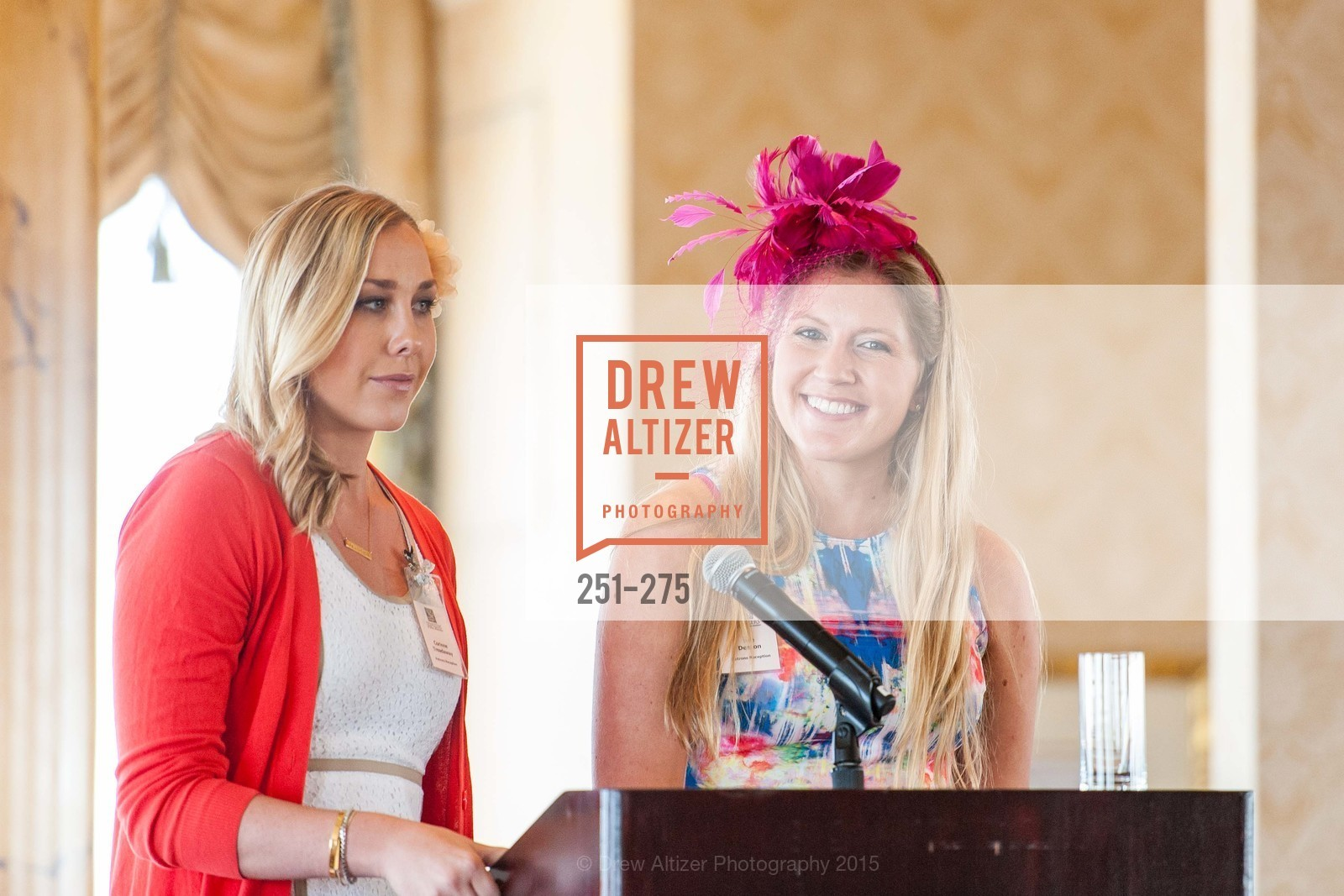 Corrine Treavaway, Julie Denton, Spinsters of San Francisco New Member Tea 2015, The Fairmont Hotel, Crown Room. 950 Mason Street, August 30th, 2015,Drew Altizer, Drew Altizer Photography, full-service agency, private events, San Francisco photographer, photographer california