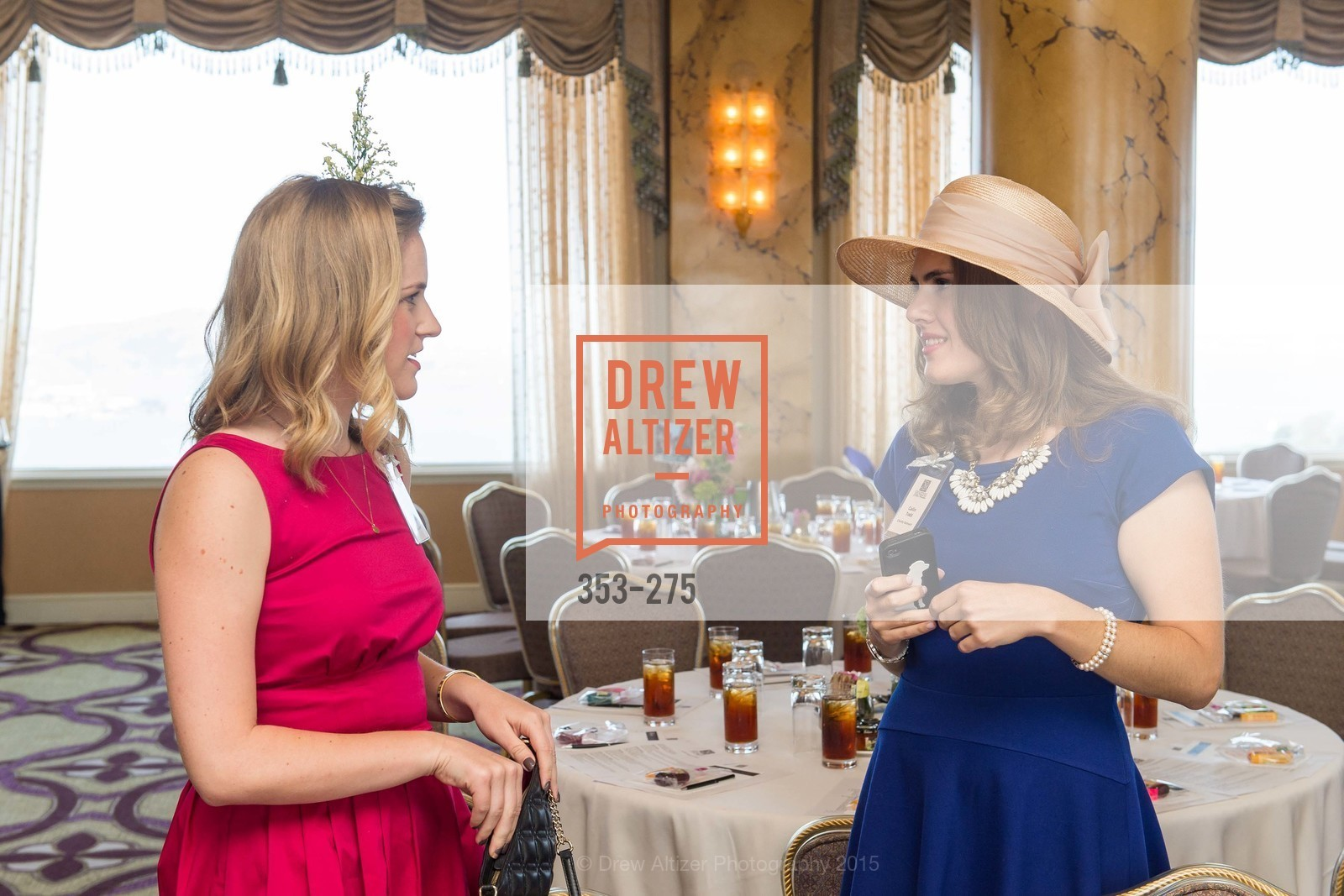 Beth Windheuser, Cailin Todd, Spinsters of San Francisco New Member Tea 2015, The Fairmont Hotel, Crown Room. 950 Mason Street, August 30th, 2015