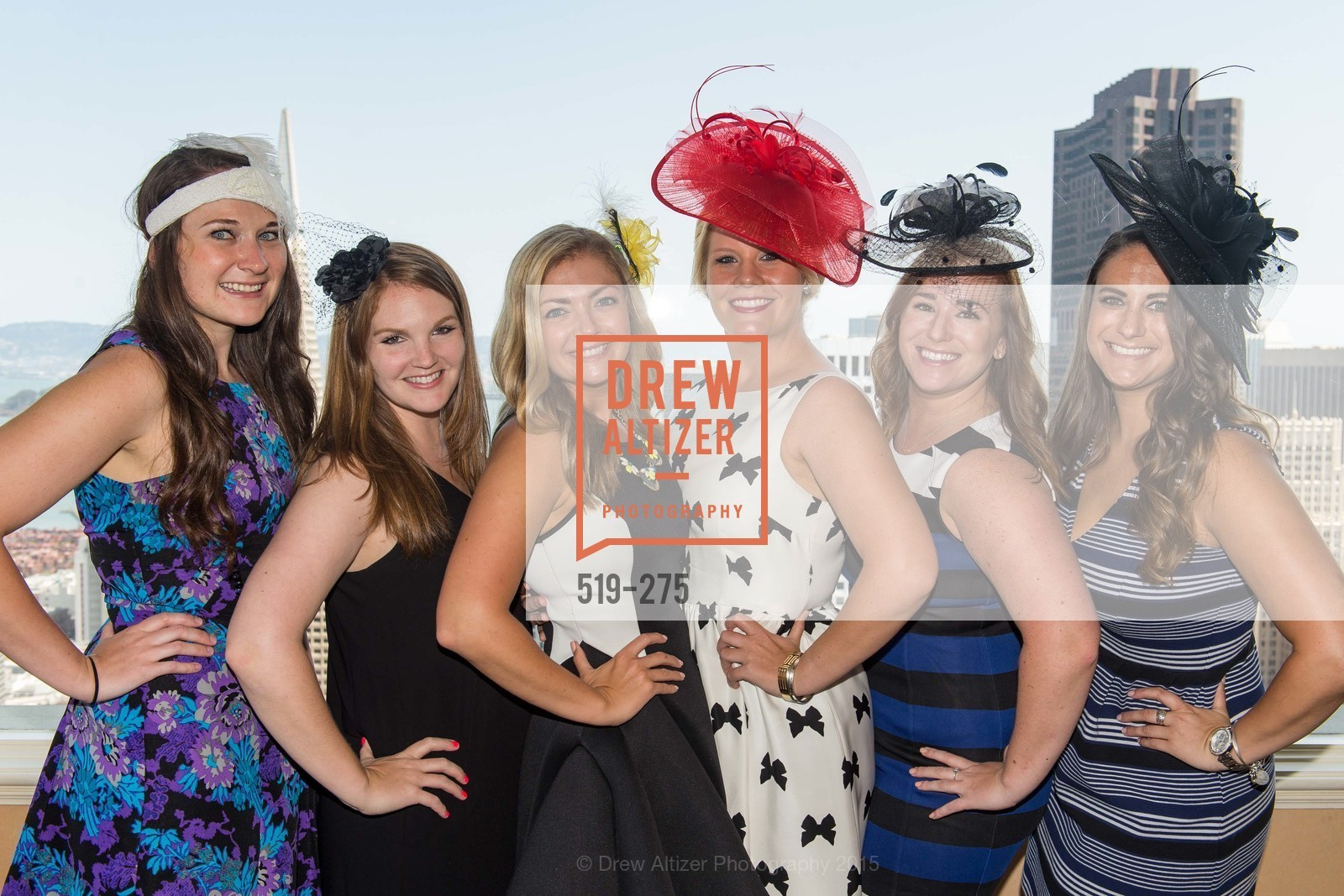 Brooke Montgomery, Jamie Lee Taylor, Liberty Kikerpill, Laura Davis, Andrea Marquis, Kathleen Roberts, Spinsters of San Francisco New Member Tea 2015, The Fairmont Hotel, Crown Room. 950 Mason Street, August 30th, 2015,Drew Altizer, Drew Altizer Photography, full-service agency, private events, San Francisco photographer, photographer california