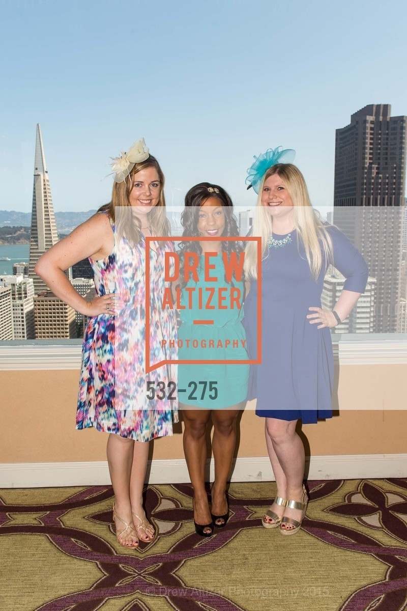 Maggie Brezinski, Allie Padilla, Summer Lynn McCormick, Spinsters of San Francisco New Member Tea 2015, The Fairmont Hotel, Crown Room. 950 Mason Street, August 30th, 2015,Drew Altizer, Drew Altizer Photography, full-service agency, private events, San Francisco photographer, photographer california