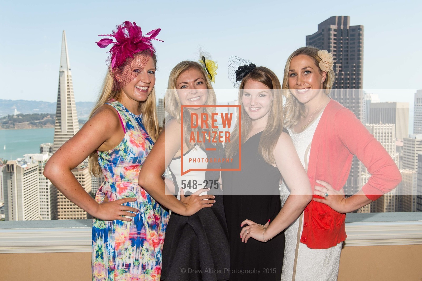 Eve Denton, Liberty Kikerpill, Jamie Lee Taylor, Corinne Treavaway, Spinsters of San Francisco New Member Tea 2015, The Fairmont Hotel, Crown Room. 950 Mason Street, August 30th, 2015,Drew Altizer, Drew Altizer Photography, full-service agency, private events, San Francisco photographer, photographer california