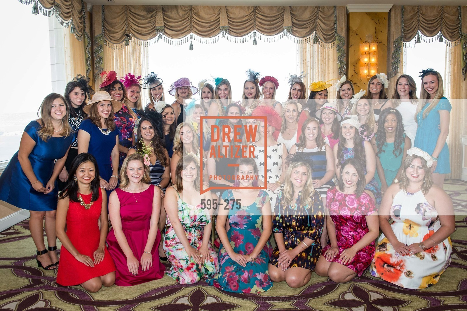 Group, Spinsters of San Francisco New Member Tea 2015, The Fairmont Hotel, Crown Room. 950 Mason Street, August 30th, 2015,Drew Altizer, Drew Altizer Photography, full-service agency, private events, San Francisco photographer, photographer california