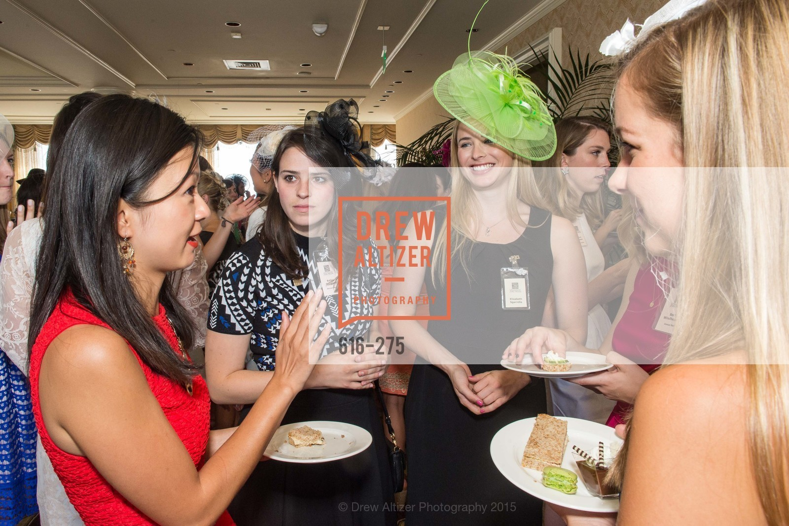 Bailey Douglass, Elizabeth Sgarrella, Spinsters of San Francisco New Member Tea 2015, The Fairmont Hotel, Crown Room. 950 Mason Street, August 30th, 2015,Drew Altizer, Drew Altizer Photography, full-service agency, private events, San Francisco photographer, photographer california