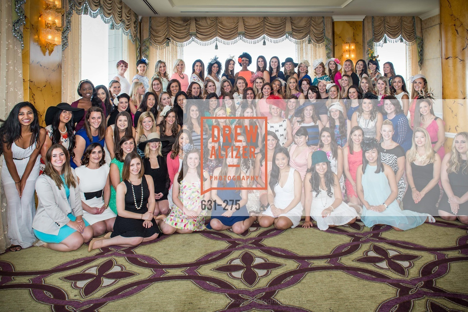 Group Picture, Spinsters of San Francisco New Member Tea 2015, The Fairmont Hotel, Crown Room. 950 Mason Street, August 30th, 2015,Drew Altizer, Drew Altizer Photography, full-service agency, private events, San Francisco photographer, photographer california