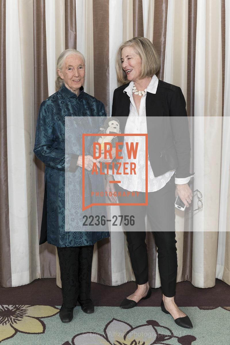Jane Goodall, Kathleen Sullivan, Photo #2236-2756