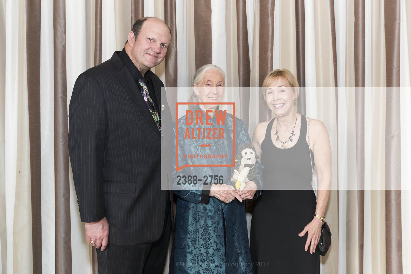 Mark Crowe, Jane Goodall, Becci Crowe, Photo #2388-2756