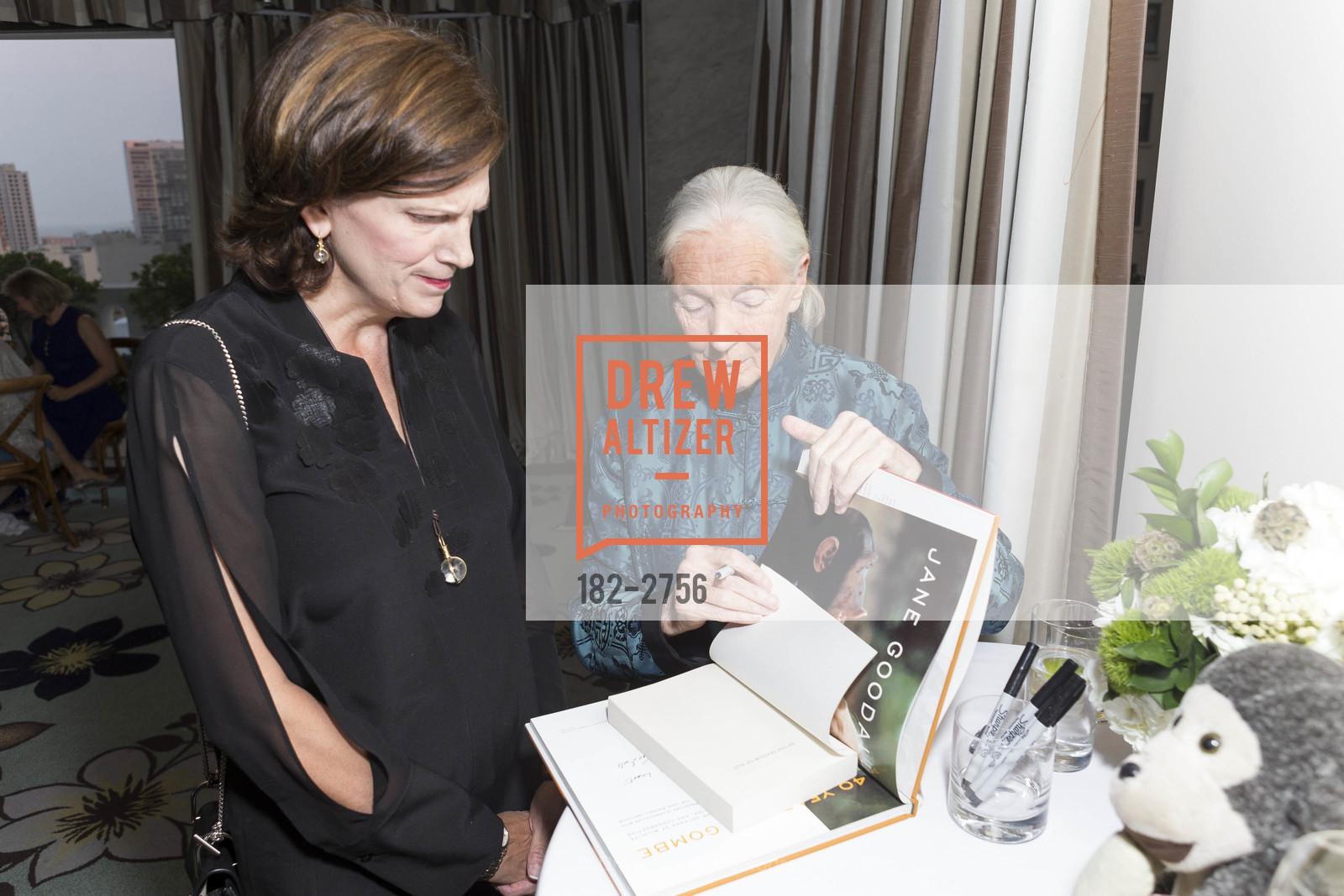 Pat Price, Jane Goodall, Photo #182-2756