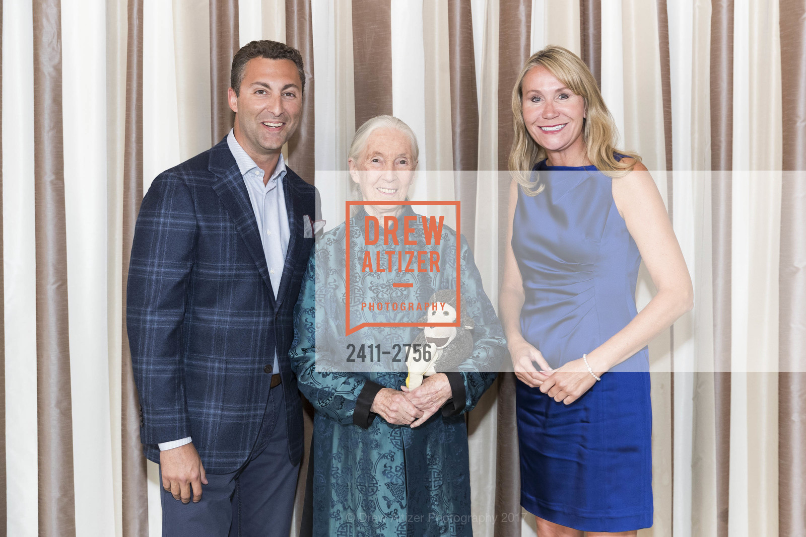 Peter Morea, Jane Goodall, Mary Schwager, Photo #2411-2756
