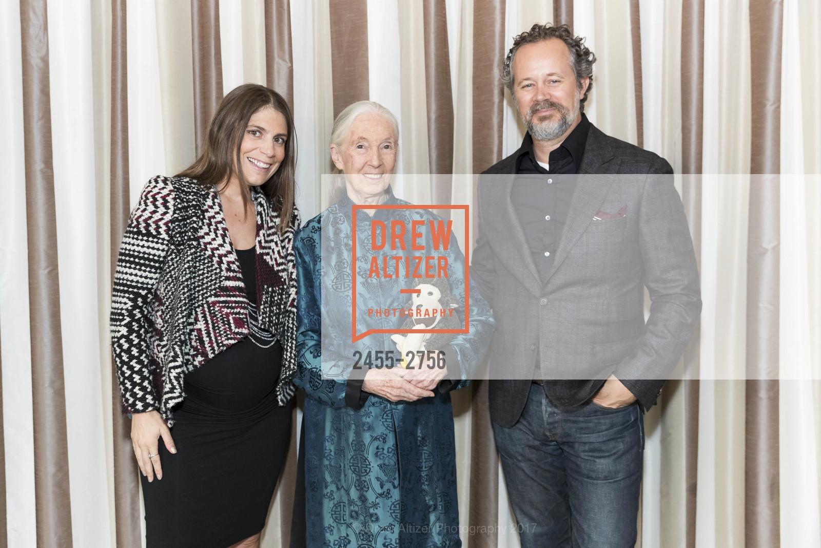 Daniela Tempesta, Jane Goodall, Jeff Wycoff, Photo #2455-2756