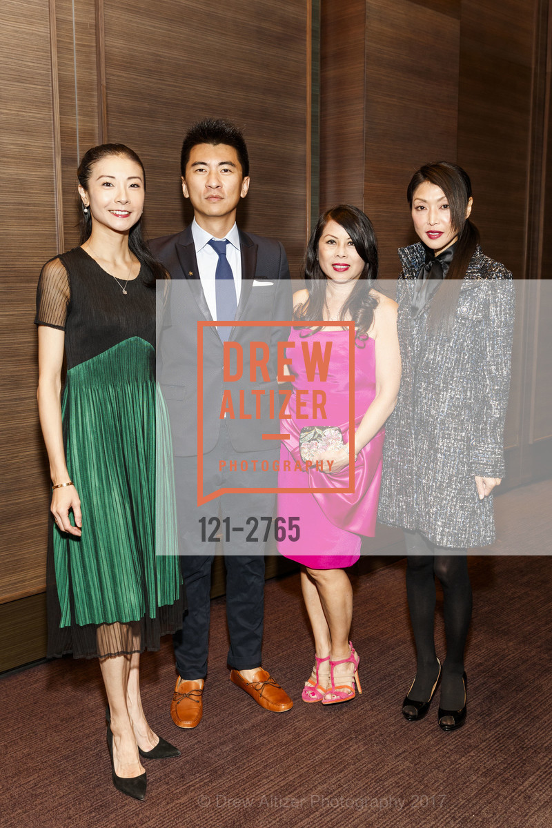 Yuan Yuan Tan, Thomas Liu, Sharon Seto, Kumiko Steven, Photo #121-2765