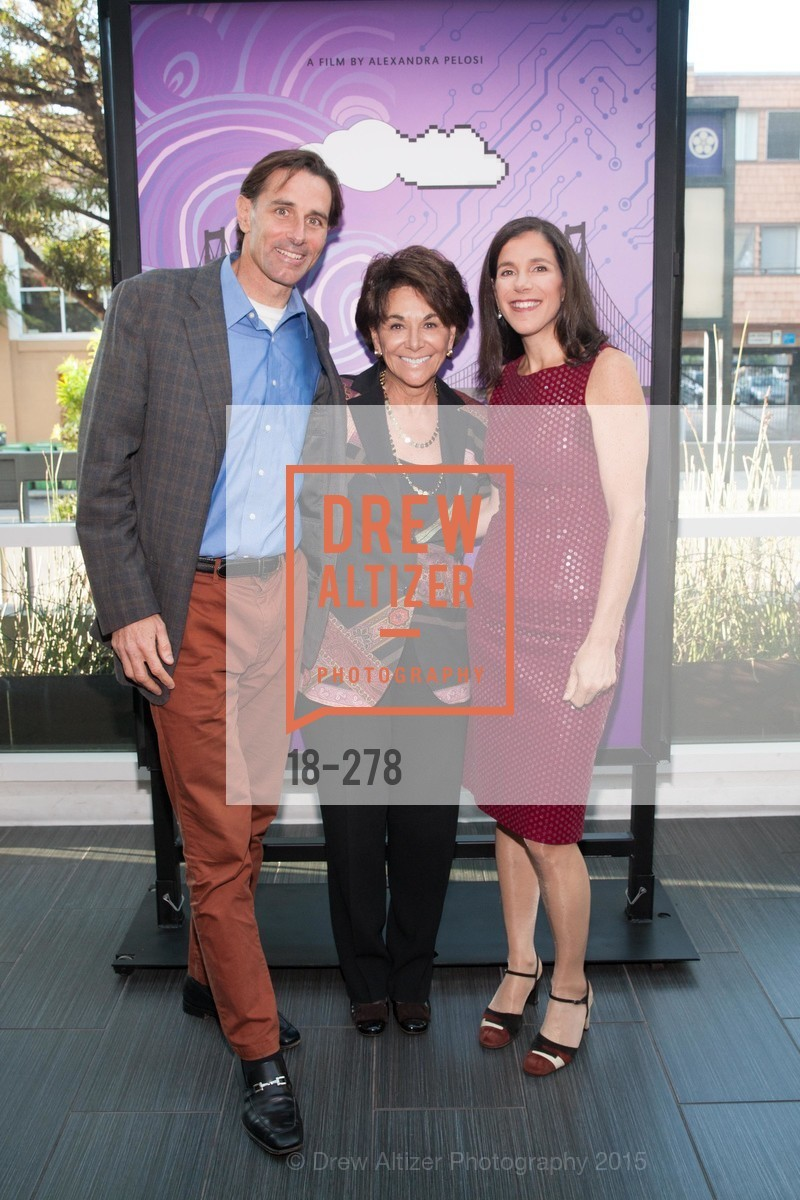Paul Pelosi, Anna Eshoo, Alexandra Pelosi, San Francisco 2.0 Premiere, Sundance Kabuki Cinema, September 3rd, 2015,Drew Altizer, Drew Altizer Photography, full-service agency, private events, San Francisco photographer, photographer california