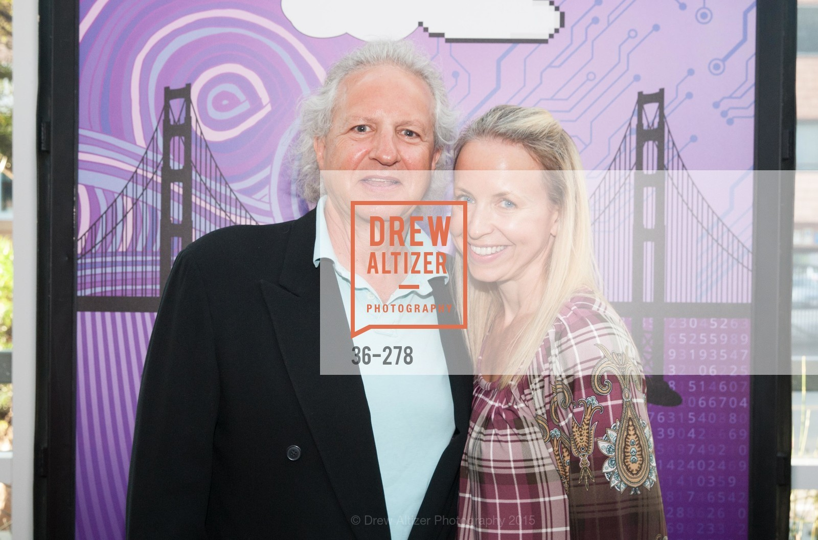 Dale Djerassi, Alex MacDowell, San Francisco 2.0 Premiere, Sundance Kabuki Cinema, September 3rd, 2015,Drew Altizer, Drew Altizer Photography, full-service agency, private events, San Francisco photographer, photographer california