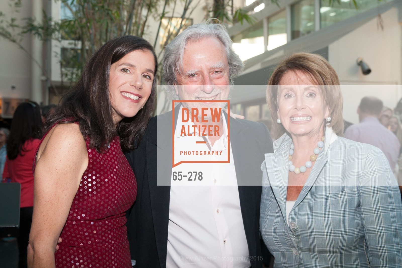 Alexandra Pelosi, Phil Kaufman, Nancy Pelosi, San Francisco 2.0 Premiere, Sundance Kabuki Cinema, September 3rd, 2015