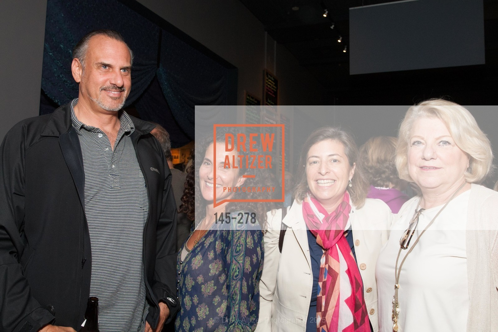 Alan Benello, Jan D'Alessandro, Julie Benello, Melanie Blum, San Francisco 2.0 Premiere, Sundance Kabuki Cinema, September 3rd, 2015,Drew Altizer, Drew Altizer Photography, full-service agency, private events, San Francisco photographer, photographer california