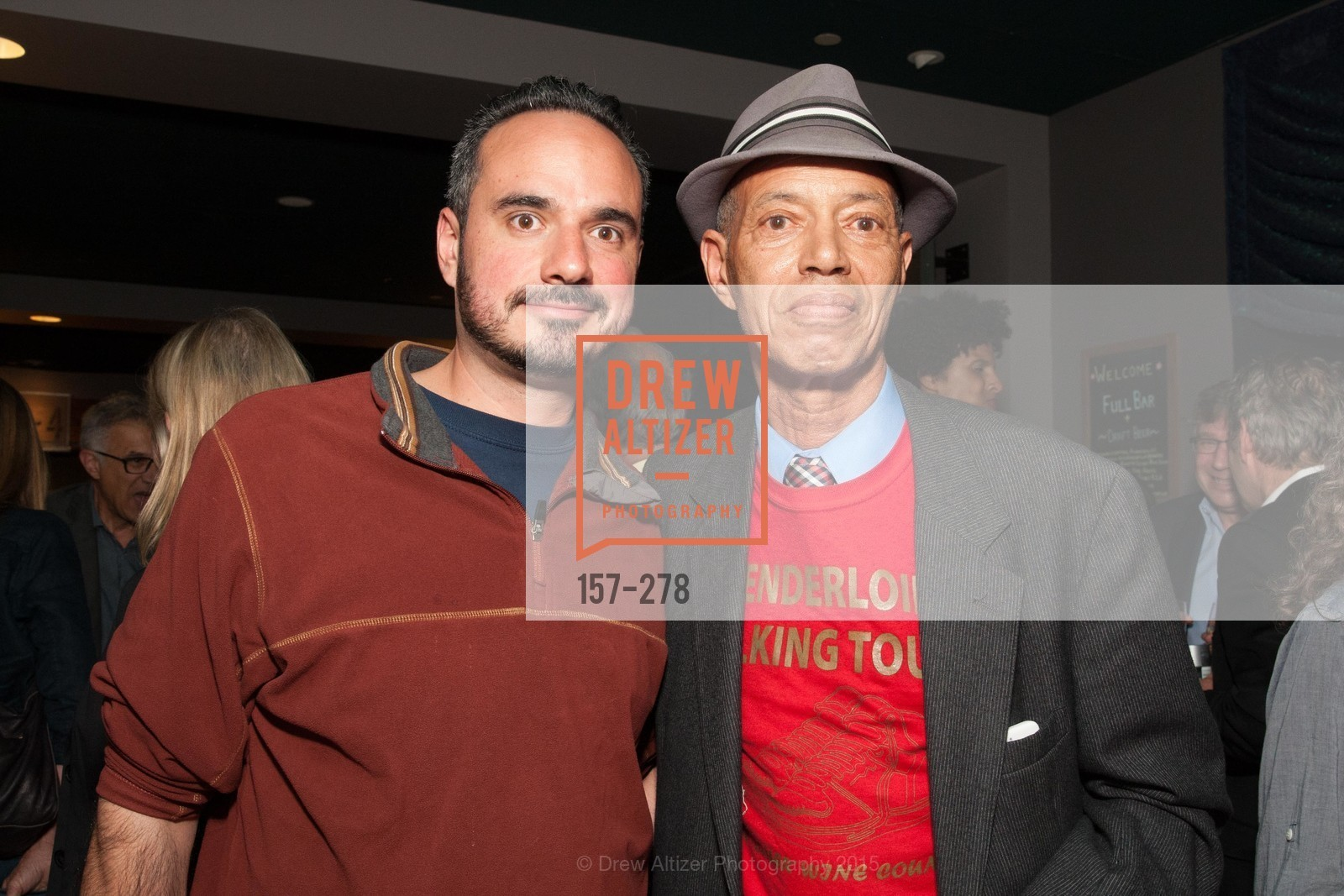 Fernando Peujals, Bel Seymour, San Francisco 2.0 Premiere, Sundance Kabuki Cinema, September 3rd, 2015,Drew Altizer, Drew Altizer Photography, full-service agency, private events, San Francisco photographer, photographer california