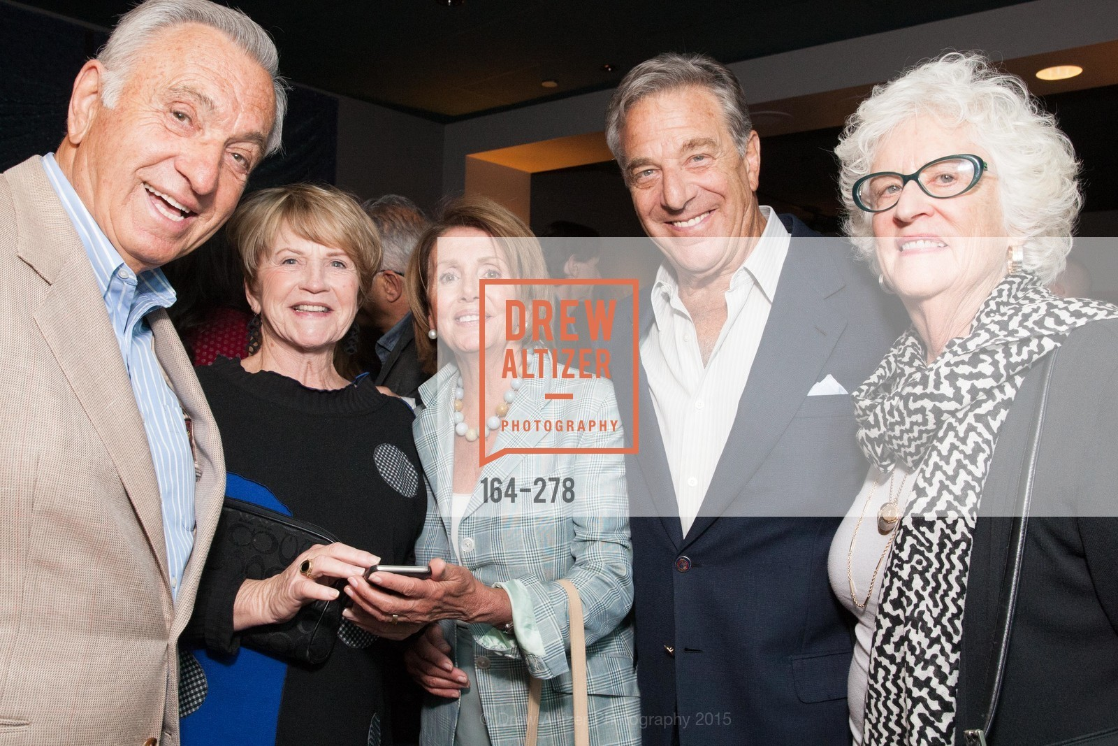 Art Agnos, Sherry Agnos, Nancy Pelosi, Paul Pelosi, San Francisco 2.0 Premiere, Sundance Kabuki Cinema, September 3rd, 2015,Drew Altizer, Drew Altizer Photography, full-service agency, private events, San Francisco photographer, photographer california