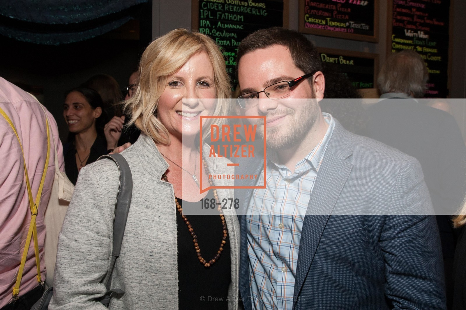 Thecla Glueck, Jeremy Crawford, San Francisco 2.0 Premiere, Sundance Kabuki Cinema, September 3rd, 2015,Drew Altizer, Drew Altizer Photography, full-service agency, private events, San Francisco photographer, photographer california