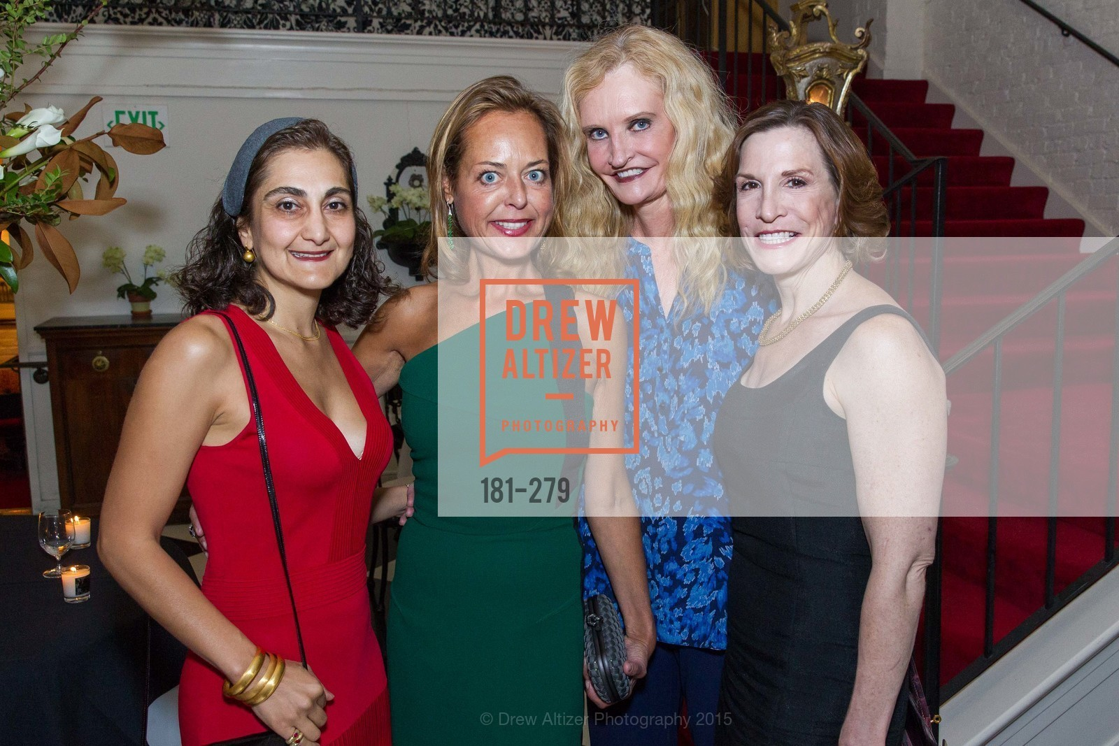 Fati Farmanfarmaian, Charlot Malin, Beth Townsend, Maria Quiros, De Grisogono Kicks off the Opera Opening, Villa Taverna, September 9th, 2015,Drew Altizer, Drew Altizer Photography, full-service event agency, private events, San Francisco photographer, photographer California