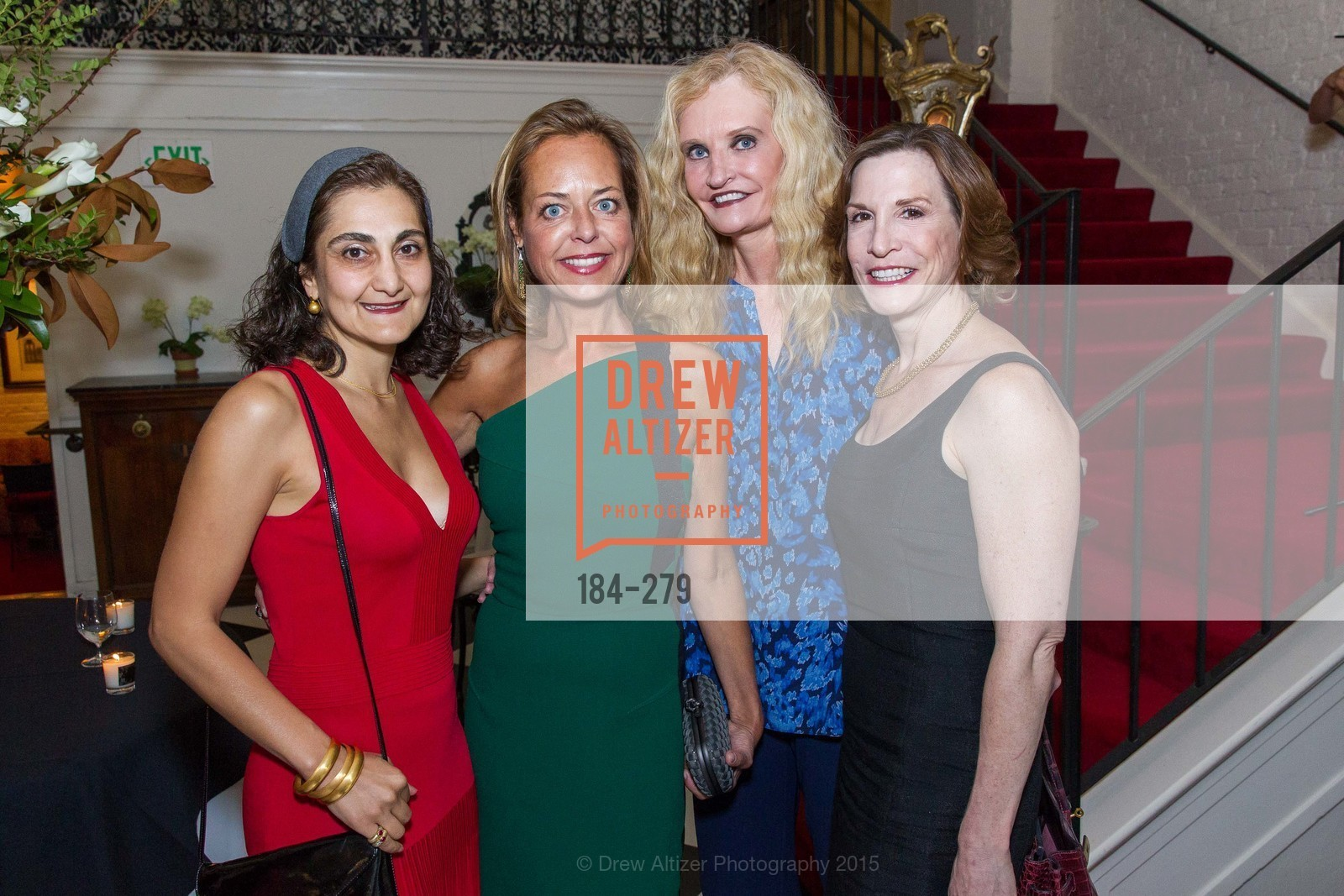 Fati Farmanfarmaian, Charlot Malin, Beth Townsend, Maria Quiros, De Grisogono Kicks off the Opera Opening, Villa Taverna, September 9th, 2015,Drew Altizer, Drew Altizer Photography, full-service agency, private events, San Francisco photographer, photographer california