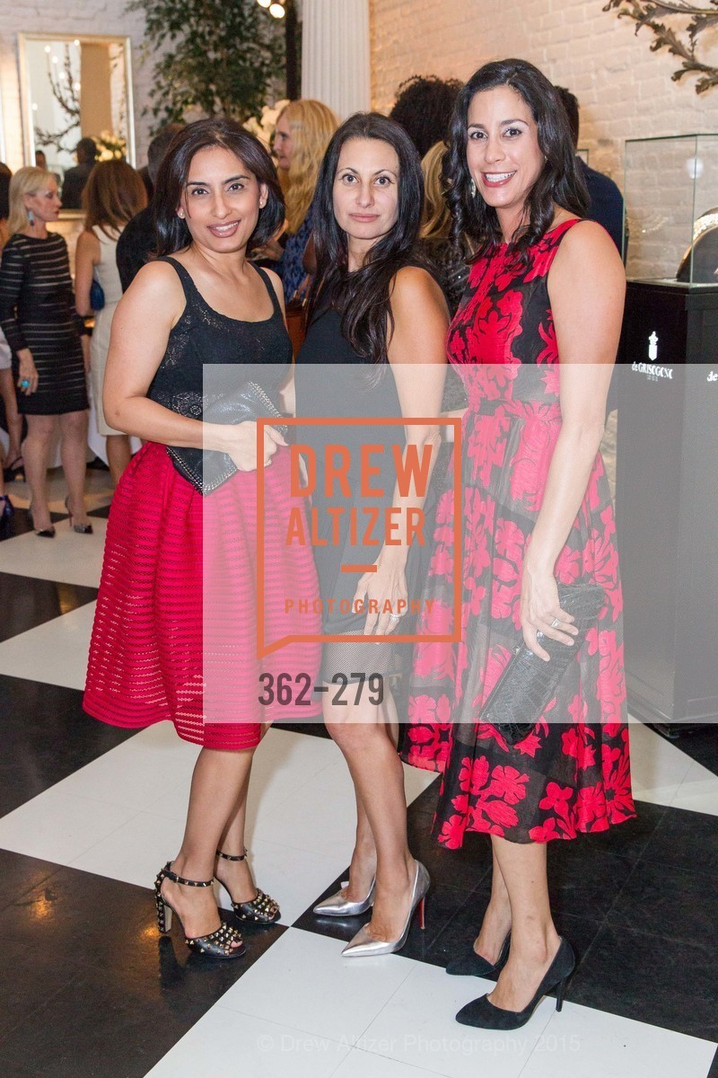 Mahika Shamdasani, Elizabeth Malkassian, Donna Hoghooghi, De Grisogono Kicks off the Opera Opening, Villa Taverna, September 9th, 2015,Drew Altizer, Drew Altizer Photography, full-service agency, private events, San Francisco photographer, photographer california