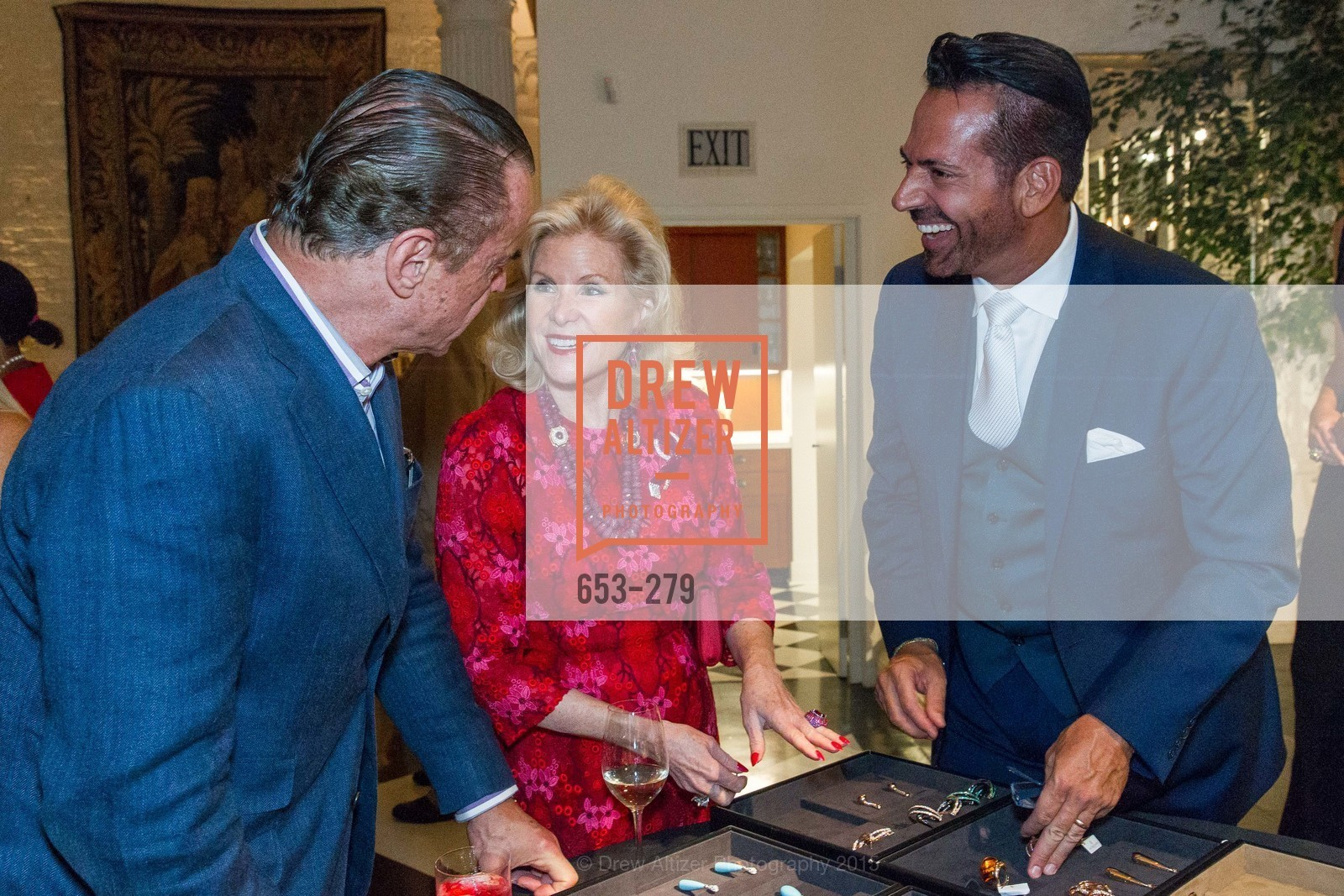 Boaz Mazor, Dede Wilsey, Giovanni Mattera, De Grisogono Kicks off the Opera Opening, Villa Taverna, September 9th, 2015,Drew Altizer, Drew Altizer Photography, full-service event agency, private events, San Francisco photographer, photographer California