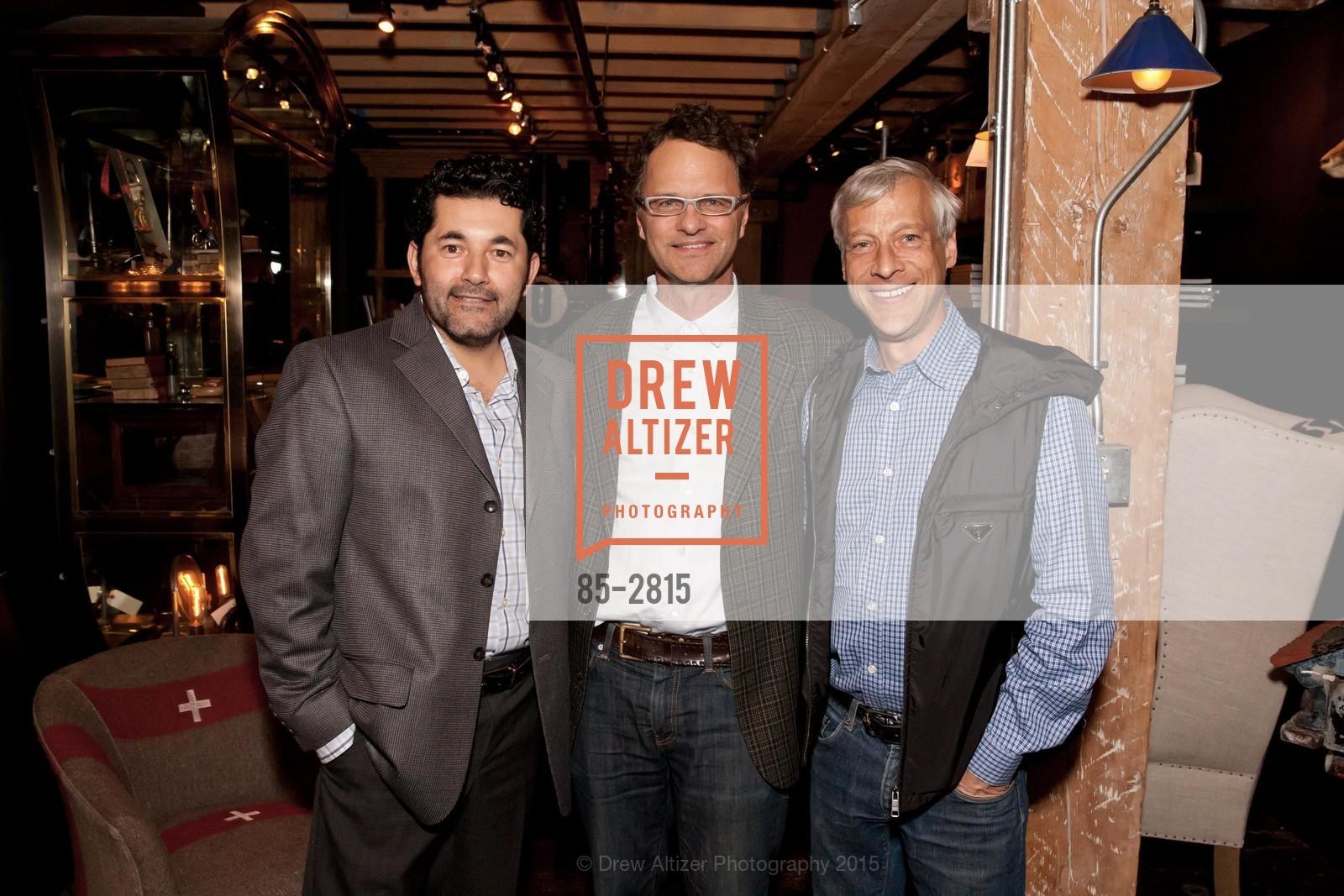 Ruben Martinez, Kurt Melander, Kurt Wootton, Photo #85-2815