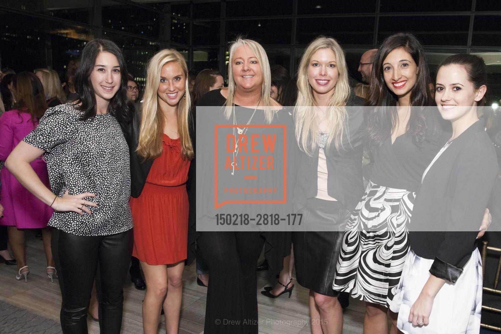 Dina Rosenberg, Allison Frazier, Lori Puccinelli Stern, Liz Whitman, Katina Mountanos, Carly Lojacono, Photo #150218-2818-177