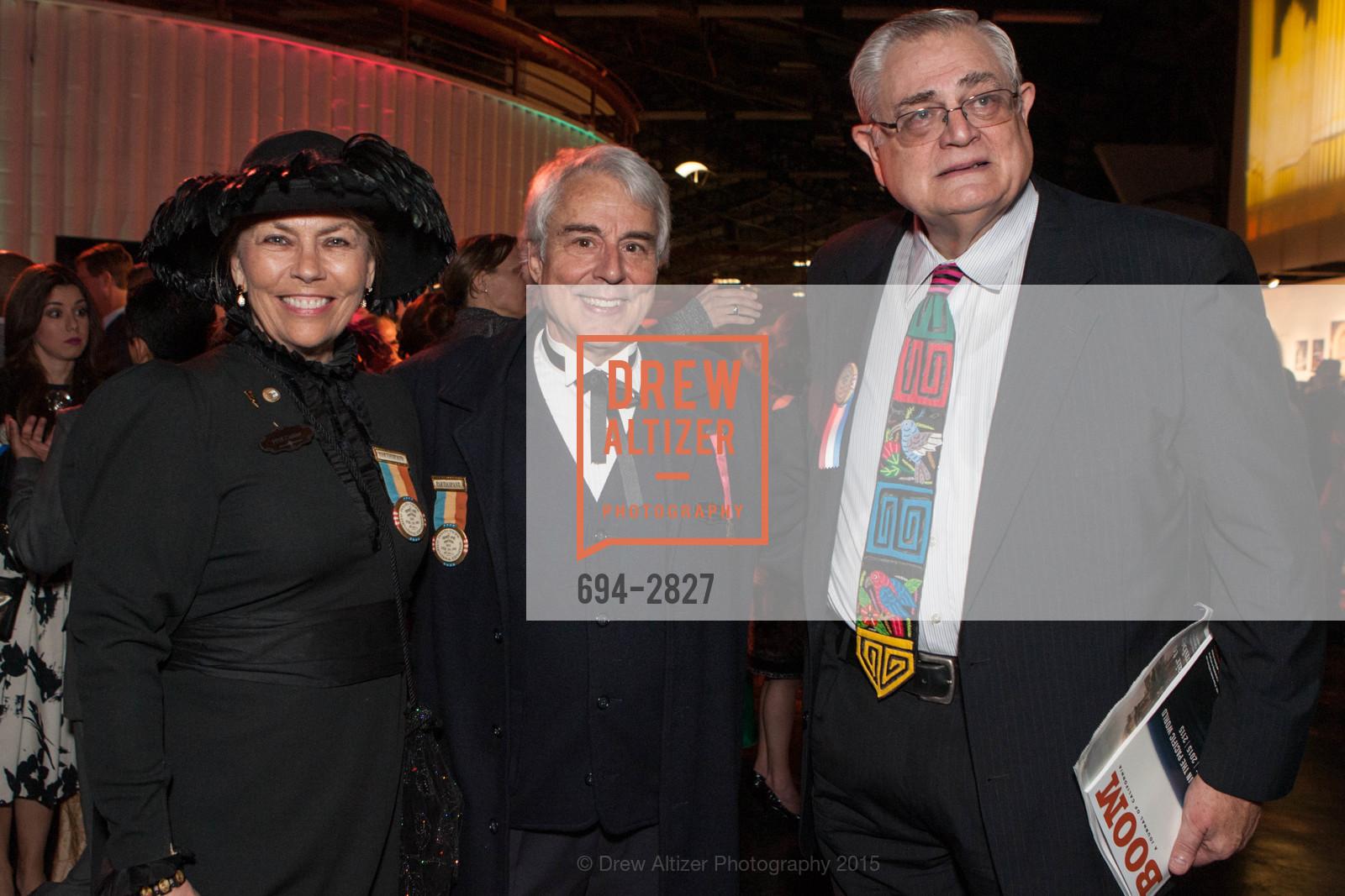 Barbara Cutler, Bill Ballas, Gene Bigler, Photo #694-2827