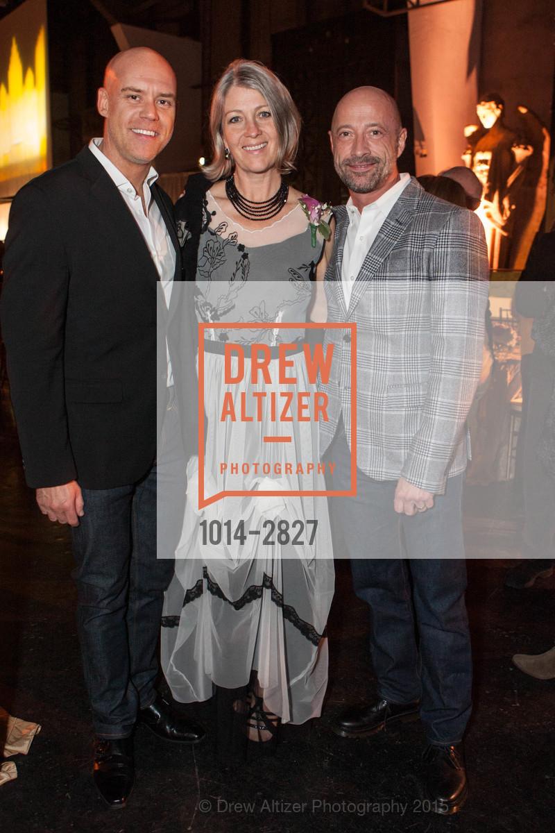 Dan Burns, Anthea Hartig, Dan Bernal, Photo #1014-2827