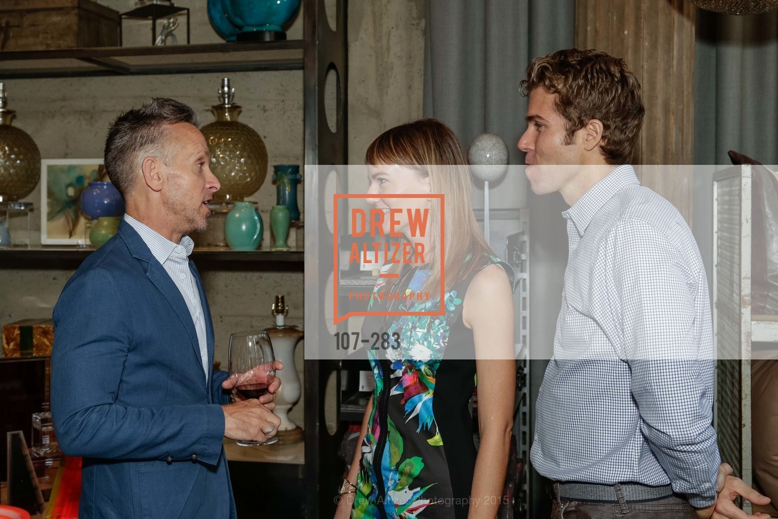 Jay Jeffers, Ginger Coy, Brad Coy, Jay Jeffers Host Will Harlan, Jay Jeffers CAVALIER. 1035 Post Street, San Francisco 94109, September 10th, 2015,Drew Altizer, Drew Altizer Photography, full-service agency, private events, San Francisco photographer, photographer california