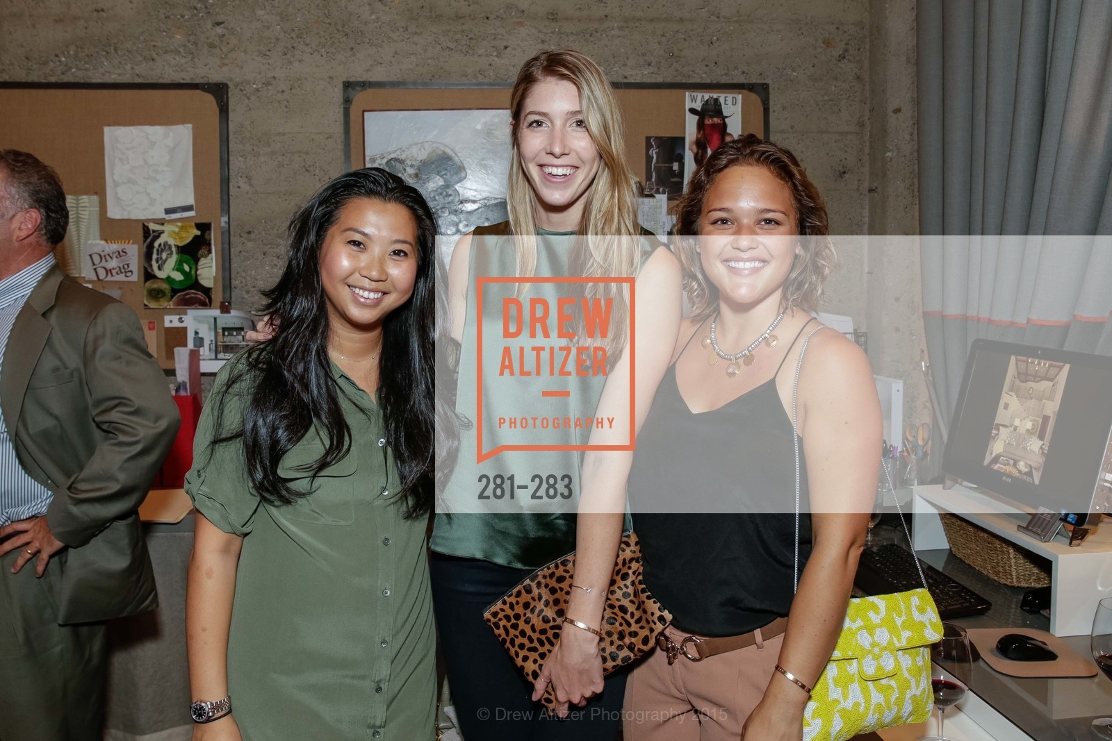 Enlin Chua, Megan McAlister, Cookie Arader, Jay Jeffers Host Will Harlan, Jay Jeffers CAVALIER. 1035 Post Street, San Francisco 94109, September 10th, 2015,Drew Altizer, Drew Altizer Photography, full-service agency, private events, San Francisco photographer, photographer california