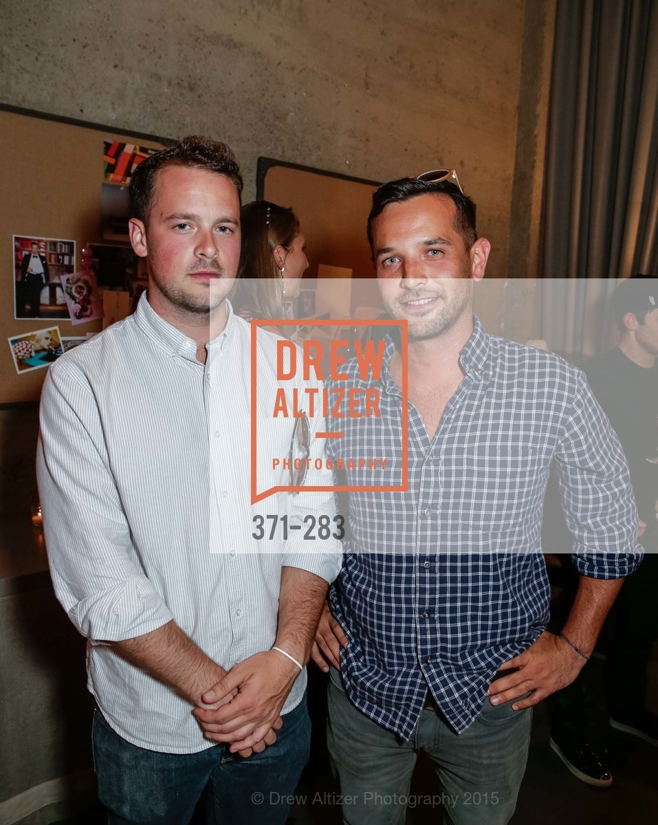 Hayes Metzger, Ryan Tucker, Jay Jeffers Host Will Harlan, Jay Jeffers CAVALIER. 1035 Post Street, San Francisco 94109, September 10th, 2015,Drew Altizer, Drew Altizer Photography, full-service agency, private events, San Francisco photographer, photographer california