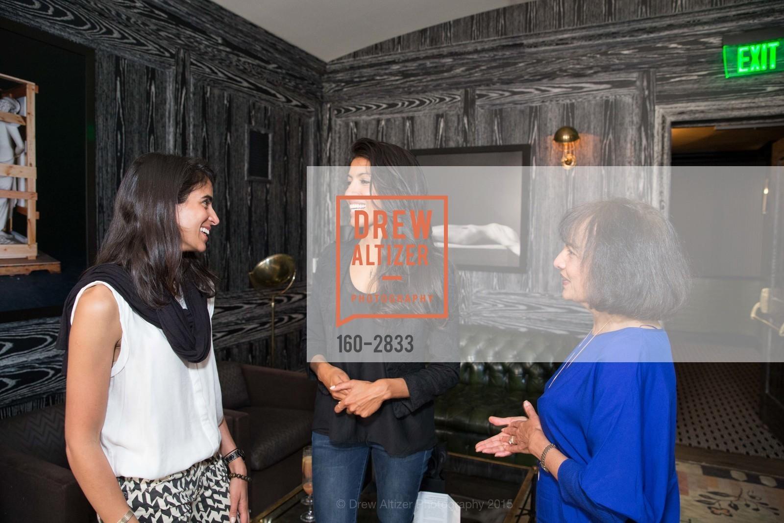 Sonia McFarland, Leila Janah, Shalini Survanshi, Photo #160-2833
