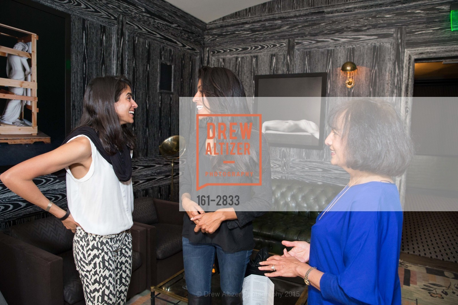 Sonia McFarland, Leila Janah, Shalini Survanshi, Photo #161-2833