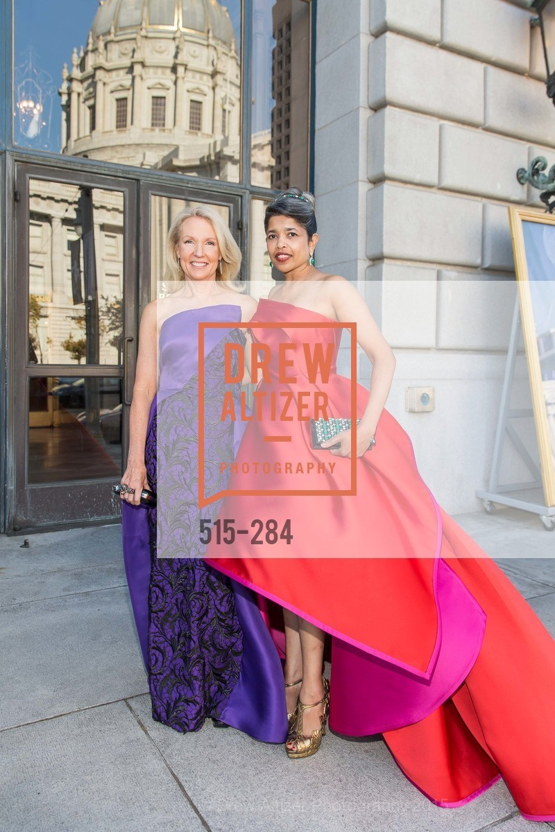 Ann Girard, Deepa Pakianathan, Opera Ball 2015: Moonlight & Music, War Memorial Opera House. 301 Van Ness Ave, September 11th, 2015,Drew Altizer, Drew Altizer Photography, full-service agency, private events, San Francisco photographer, photographer california