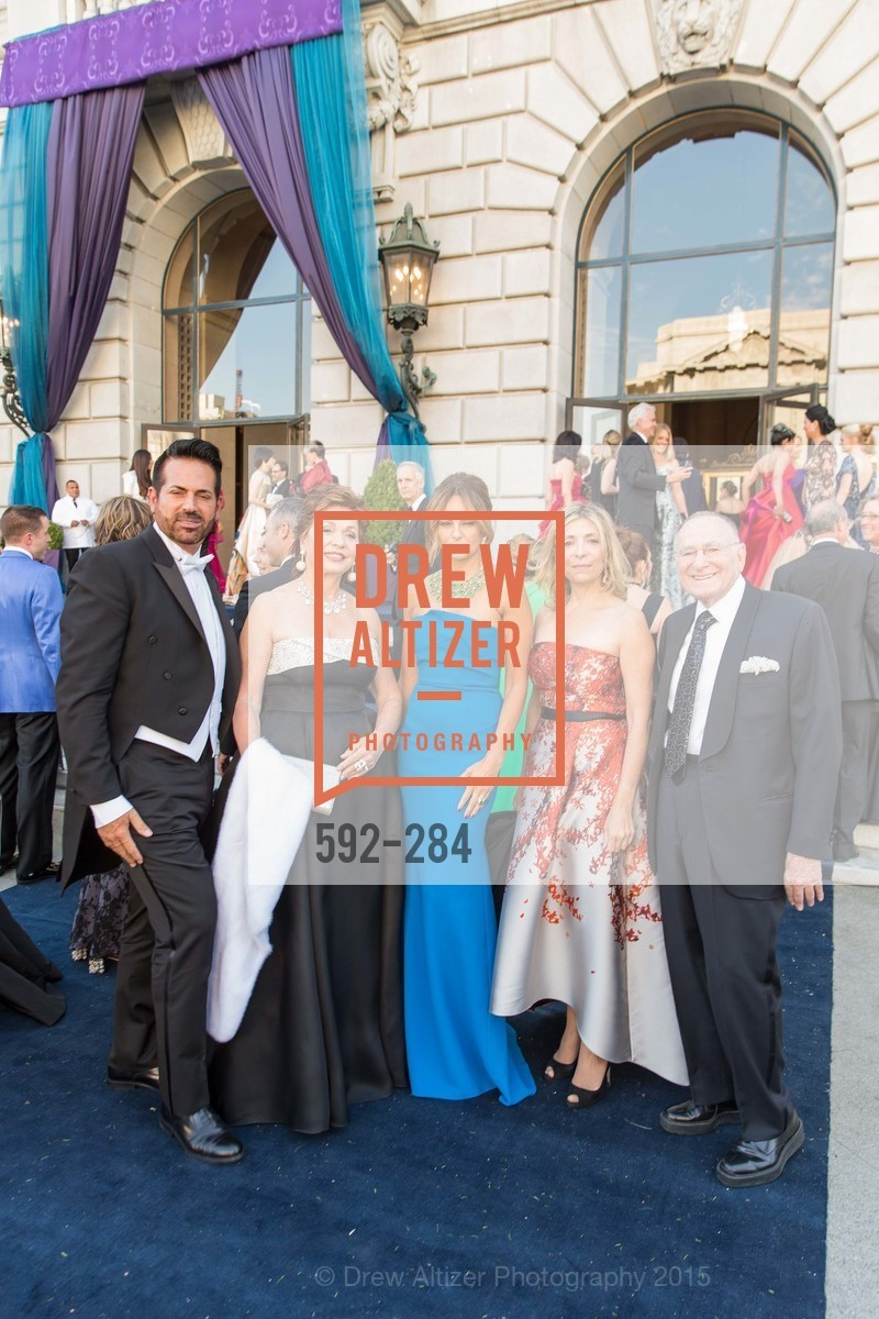 Giovanni Mattera, Maria Manetti Shrem, Sabrina Baldieri, Denise De Luca, Jan Shrem, Opera Ball 2015: Moonlight & Music, War Memorial Opera House. 301 Van Ness Ave, September 11th, 2015,Drew Altizer, Drew Altizer Photography, full-service agency, private events, San Francisco photographer, photographer california