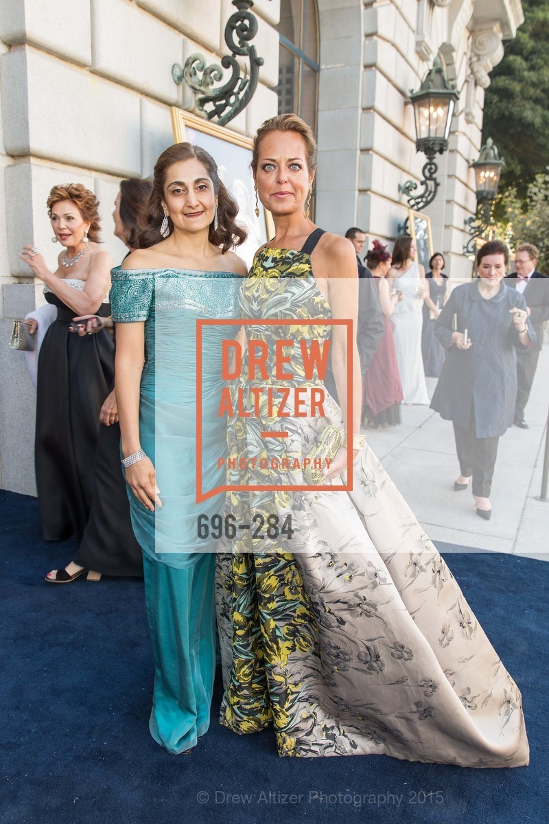 Fati Farmanfarmaian, Charlot Malin, Opera Ball 2015: Moonlight & Music, War Memorial Opera House. 301 Van Ness Ave, September 11th, 2015,Drew Altizer, Drew Altizer Photography, full-service agency, private events, San Francisco photographer, photographer california