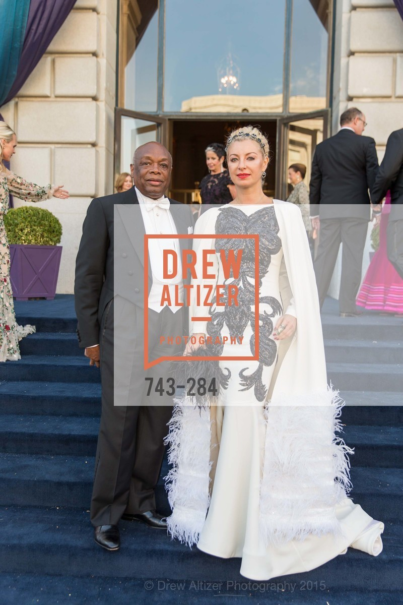 Willie Brown, Sonya Molodetskaya, Opera Ball 2015: Moonlight & Music, War Memorial Opera House. 301 Van Ness Ave, September 11th, 2015,Drew Altizer, Drew Altizer Photography, full-service agency, private events, San Francisco photographer, photographer california
