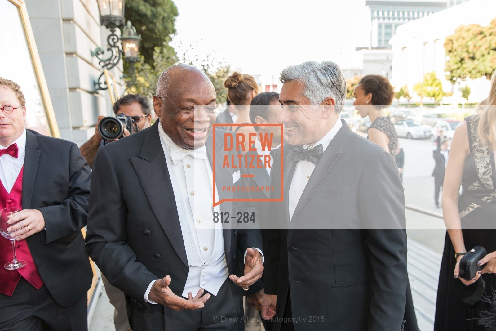 Willie Brown, David Shimmon, Opera Ball 2015: Moonlight & Music, War Memorial Opera House. 301 Van Ness Ave, September 11th, 2015,Drew Altizer, Drew Altizer Photography, full-service agency, private events, San Francisco photographer, photographer california