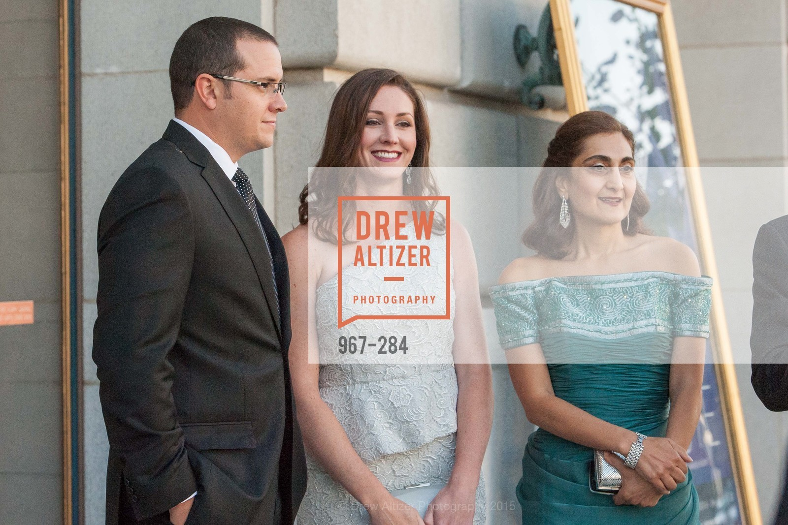 Braeden Schieding, Annie Calonico Schieding, Fati Farmanfarmaian, Opera Ball 2015: Moonlight & Music, War Memorial Opera House. 301 Van Ness Ave, September 11th, 2015,Drew Altizer, Drew Altizer Photography, full-service agency, private events, San Francisco photographer, photographer california