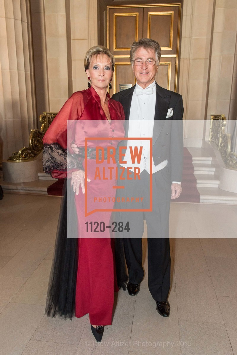 Sallie Huntting, Leon Huntting, Opera Ball 2015: Moonlight & Music, War Memorial Opera House. 301 Van Ness Ave, September 11th, 2015,Drew Altizer, Drew Altizer Photography, full-service agency, private events, San Francisco photographer, photographer california