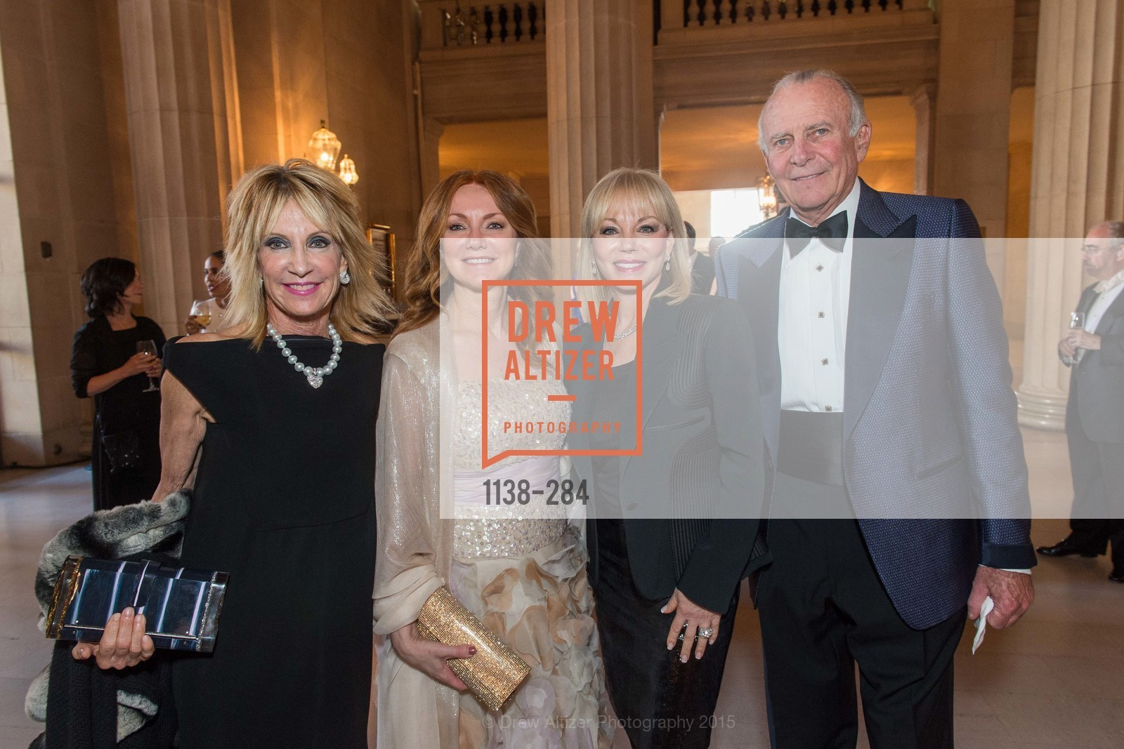 Sandy Mandel, Mary Mitts, Annette Smittcamp, Bob Smittcamp, Opera Ball 2015: Moonlight & Music, War Memorial Opera House. 301 Van Ness Ave, September 11th, 2015,Drew Altizer, Drew Altizer Photography, full-service event agency, private events, San Francisco photographer, photographer California