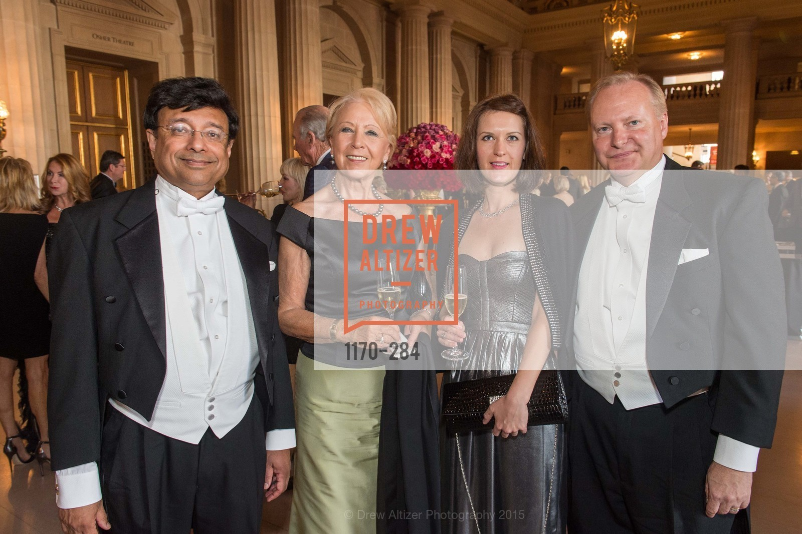 Shariq Yosufzai, Angela Young, Melissa Carrish, Brian James, Opera Ball 2015: Moonlight & Music, War Memorial Opera House. 301 Van Ness Ave, September 11th, 2015,Drew Altizer, Drew Altizer Photography, full-service agency, private events, San Francisco photographer, photographer california