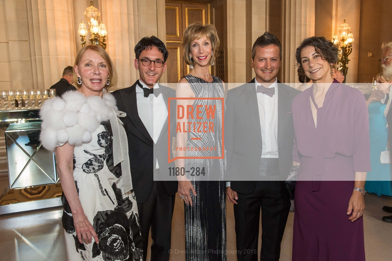 Arlene Sullivan, James Krohn, Nancy Kukacka, Edward Teran, Micky Turner, Opera Ball 2015: Moonlight & Music, War Memorial Opera House. 301 Van Ness Ave, September 11th, 2015,Drew Altizer, Drew Altizer Photography, full-service agency, private events, San Francisco photographer, photographer california