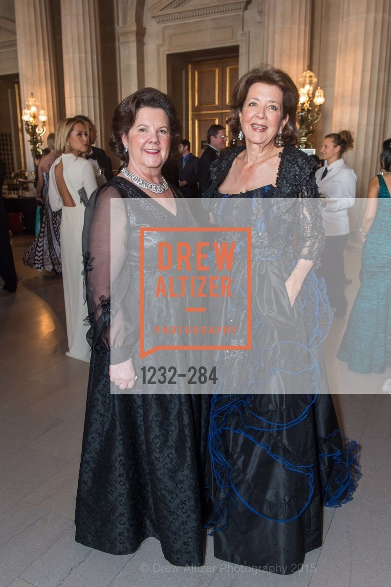 Barbar Fritz, Linda Kemper, Opera Ball 2015: Moonlight & Music, War Memorial Opera House. 301 Van Ness Ave, September 11th, 2015,Drew Altizer, Drew Altizer Photography, full-service agency, private events, San Francisco photographer, photographer california