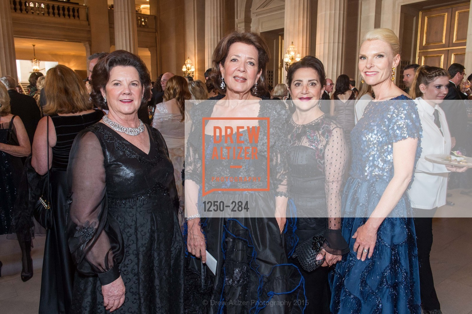 Barbara Fritz, Linda Kemper, Lily Samii, Linle Froeb, Opera Ball 2015: Moonlight & Music, War Memorial Opera House. 301 Van Ness Ave, September 11th, 2015,Drew Altizer, Drew Altizer Photography, full-service agency, private events, San Francisco photographer, photographer california