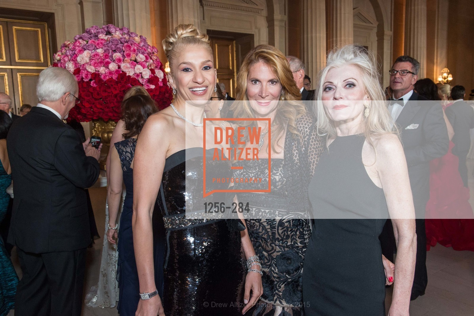 Navid Armstrong, Patricia Ferrin Loucks, Diane Carlson, Opera Ball 2015: Moonlight & Music, War Memorial Opera House. 301 Van Ness Ave, September 11th, 2015,Drew Altizer, Drew Altizer Photography, full-service agency, private events, San Francisco photographer, photographer california