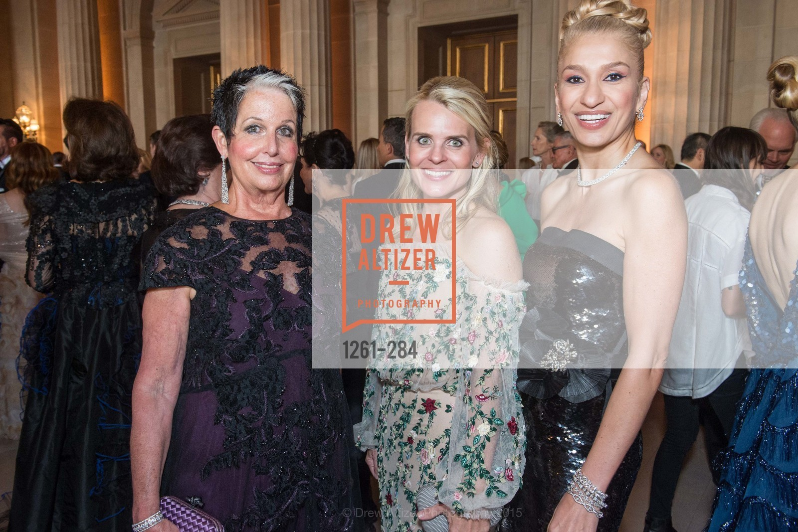 Karen Kubin, Jane Mudge, Navid Armstrong, Opera Ball 2015: Moonlight & Music, War Memorial Opera House. 301 Van Ness Ave, September 11th, 2015,Drew Altizer, Drew Altizer Photography, full-service agency, private events, San Francisco photographer, photographer california