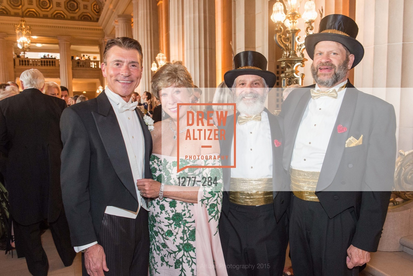 Robert Beadle, Maria Pitcairn, Randy Laroche, David Laudon, Opera Ball 2015: Moonlight & Music, War Memorial Opera House. 301 Van Ness Ave, September 11th, 2015,Drew Altizer, Drew Altizer Photography, full-service agency, private events, San Francisco photographer, photographer california